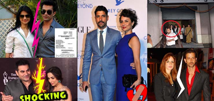 5 Famous Bollywood Celebrity Divorces that Shocked the Audience