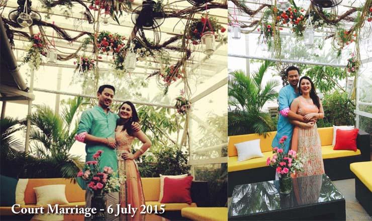 Ryan Tham and Minissha Lamba Court Marriage